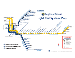 Metro Rail Map by Sacramento Light Rail Map Metro U2022 Mapsof Net