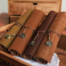 leather map aliexpress com buy pu leather roll pencil bags compass treasure