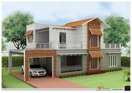 Kerala House Design 2 Story House Plan 3d