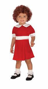 amazon com forum novelties little orphan annie child costume
