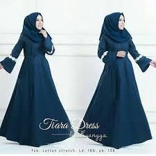 gaun muslim baju muslim terbaru tiara dress grosir baju muslim pakaian