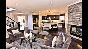 Kitchen Livingroom by Modern Living Room And Dining Room Together Youtube
