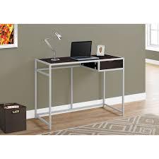 modern computer desk cappuccino desks u0026 workstations best