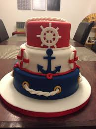 nautical cake toppers nautical cake ninjasweets