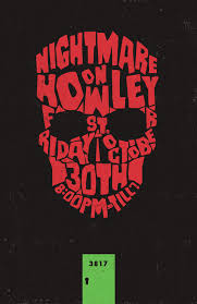 nightmare on howley st posters stacey zeto designer u0026 creative