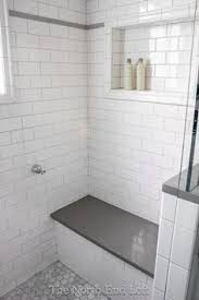 grouting bathtub tile we chose shiny white subway tile with light gray grout for the