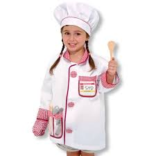 chef costume play costume set chef walmart