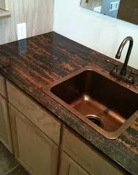 Best  Copper Sinks Ideas On Pinterest Country Kitchen Sink - Kitchen sink tops