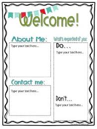editable student teacher intern welcome letter by mrs irvins toolbox