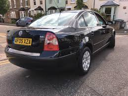 vw passat 2005 2 0l 89k miles petrol manual black saloon