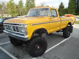 Old Ford Mud Truck - 1975 ford f250 dentsides com