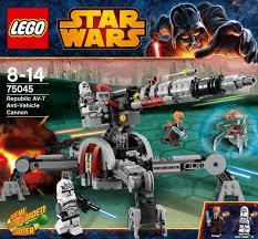 lego star wars 75045 republic av 7 anti vehicle cannon jedi