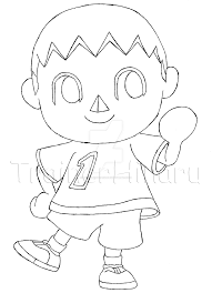animal crossing coloring pages eson me
