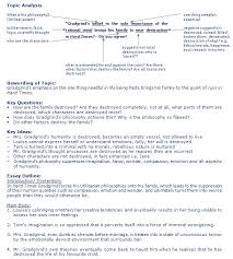 response essay outline curriculum i students writing the text response essay i