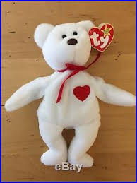 ty valentino ty valentino beanie baby with 17 errors mint new ty