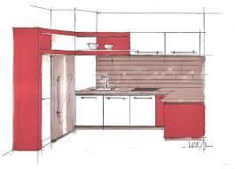 dessiner en perspective une cuisine perspective cuisine 001 photo de dessins héloïse desrumaux