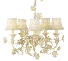 Ivory Chandelier 5 Arm Leaf And Flower Ivory Chandeliers 7073 22587073 2258