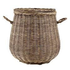 Canvas Laundry Hamper by Furniture Vintage Wicker Laundry Basket For Your Vintage Bedroom