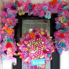 flip flop wreath summer wreaths with flip flops products on wanelo