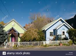 cabin houses colonial cabin style colourful wood cabin houses white picket