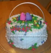 cool easter baskets 21 coolest easter basket cake designs and diy cake decorating tips