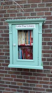 Mini Library Ideas 624 Best Mini Libraries Images On Pinterest Free Library Little