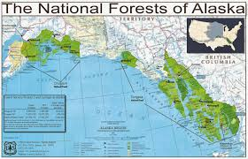 Southeast Alaska Map by The Alaska Native Studies Blog Green Imperialism In The Tongass