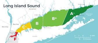 Long Island New York Map by Long Island Sound Ecohealth Report Cards