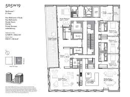 pricing floorplans revealed for 505 west 19th u0027s penthouses