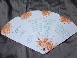 fan programs for wedding 7 best wedding program ideas images on wedding fans