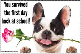 how many women survived to celebrate the first thanksgiving survive the first day back at after winter break happy