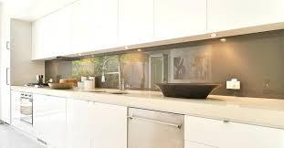 crédence verre trempé cuisine credence cuisine verre credence en verre trempe pour cuisine sur