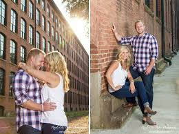 photographers in nc engagement photos by pixels on paper photographers at loray mill