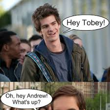 Meme Tobey Maguire - hey tobey by letholdusofblackrain meme center