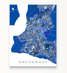 usa map alaska anchorage map print alaska usa maps as
