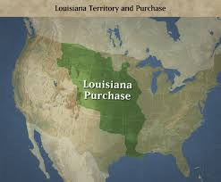 Map Of Louisiana Purchase by The Louisiana Purchase By Kelsea Kennedy On Prezi