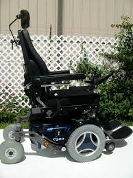 Used Power Wheel Chairs Permobil C300 Wheelchair Blue Used Power Chairs