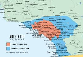 Zip Code Los Angeles Map by Repossessions Recovery And Skip Tracing By Able Auto Adjusters