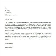 ideas collection retirement resignation letter samples free in