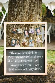 wedding quotes quote garden great idea remembering lost loved ones at your wedding reception