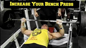 Bench Press Hypertrophy Increase Your Bench Press Free Program Youtube