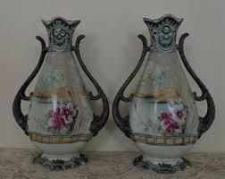 Noritake Vases Value Moriage Porcelain Etsy