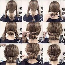 Hochsteckfrisurenen Kurze Haar Anleitung Bildern by 17 Best Hochsteckfrisuren Images On Hairstyles