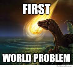 1st World Problems Meme - first world problem weknowmemes