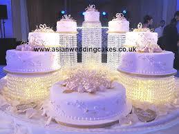 wedding cakes with fountains asian wedding cakes