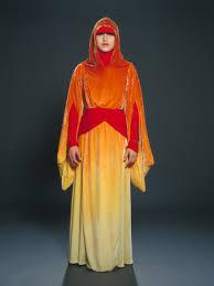 Padme Halloween Costumes Flame Handmaiden Costume Episode 1 Phantom Menace