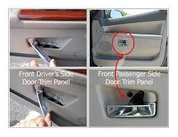Interior Door Panel Repair 2005 Jeep Grand Door Handles Broken From Interior