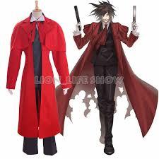 Red Coat Halloween Costume Cheap Hellsing Alucard Costume Aliexpress