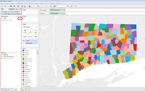 Connecticut On Map Creating A Custom Polygon Map For Connecticut Towns In Tableau