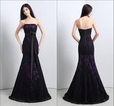 purple dresses for weddings luxury black purple wedding dresses aximedia
